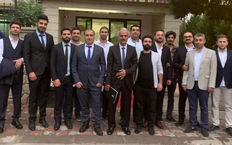 Diyarbakır Eczacılar Odası'nın yeni başkanı Mahmut Sert
